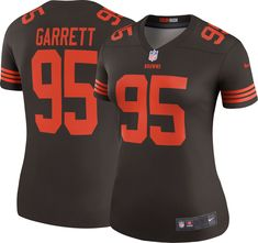 dc525fd13 Nike Women s Color Rush Legend Jersey Cleveland Browns Myles Garrett  95