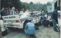 lancia 037 rally Martini racing n.1 assistenza
