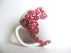 #DIY : Une jolie tasse à customiser avec les markers #Pébéo !
