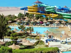 Hotel Titanic Resort & Aquapark - duży Wodny Park w Hurghadzie