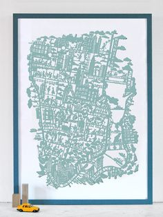 New York City Map from Famille Summerbelle
