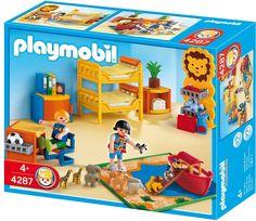 Playmobil - 4287 - Jeu de construction - Chambre des enfants: Amazon.fr: Jeux et Jouets