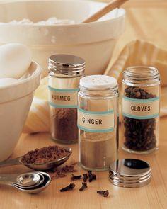 #Printables  Spice Labels