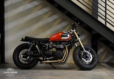 Triumph #motorcycles #bratstyle #motos | caferacerpasion.com
