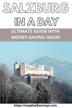 Here's a guide for spending one day in Salzburg which is one of the best destinations for Europe travel. This guide includes things to do in Salzburg, best places to visit, tips to visit Salzburg on a budget as well money-saving hacks to use on your day trip to Salzburg. #Salzburgtravel #Austriatravel #Europetravel