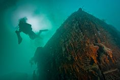 From the Canadian Geographic July/August issue: Franklin Expedition shipwreck hunter