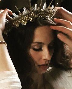 Troian Bellisario crown wedding