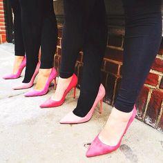 #ManoloBlahnik wearing pink against bullying! #AntiBullyingDay #shoes