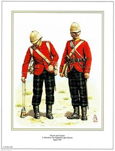2nd Batallion highland infantry