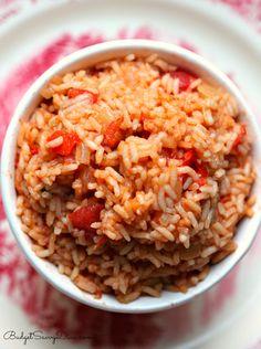 Easy Spanish Rice Recipe