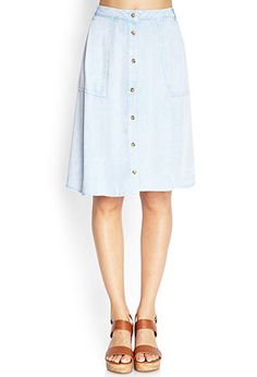 Rustic Romance A-Line Skirt | FOREVER 21 - 2000066095