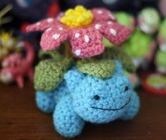 Pokédex # 003  Venusaur #pokemon #amigurumi