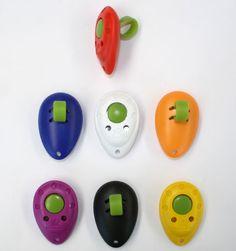 Profi Finger-Clicker in 7 Farben mit Silikon-Fingerschlaufe