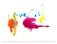 Helen Frankenthaler-want to go this summer!