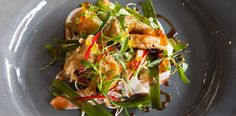 This Asian-style crayfish salad is a healthy choice for a warm #summer day!