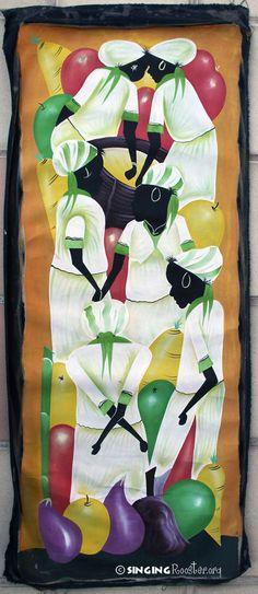 Haitian Art, Acrylic Painting