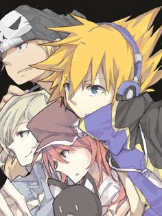 TWEWY crew, looking at something very interesting happening to your left.