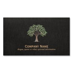 Old Wise Tree Logo Nature Business Card. I love this design! It is available for customization or ready to buy as is. All you need is to add your business info to this template then place the order. It will ship within 24 hours. Just click the image to make your own!