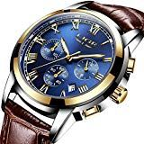 Cool Watches: Discount This Month Relogio Masculino Mens Watches Top Brand Luxury WISHDOIT Men's Fashion Business Watch Men Casual Leather Waterproof Quartz Watch Gents Watches, Cool Watches, Watches For Men, Women's Watches, Wrist Watches, Mens Sport Watches, Mens Watches Leather, Datejust Rolex, Patek Philippe