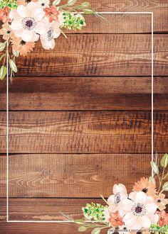 Pop Art Wallpaper, Flower Background Wallpaper, Flower Backgrounds, Woodland Wedding Invitations, Free Printable Wedding Invitations, Disney Invitations, Pink And Gold Wedding, Rustic Wedding, Decoration
