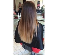 hair, ombre, and hairstyle Bild