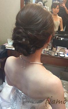 可愛い花嫁さま♡ドレスから色打掛へとチェンジの素敵ホテル婚 | 大人可愛いブライダルヘアメイク『tiamo』の結婚カタログ