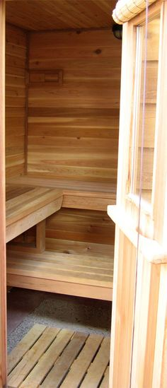 The Boulder Sauna [design]—How to Build a Finnish Sauna: cedar, kits, heaters, building materials, t