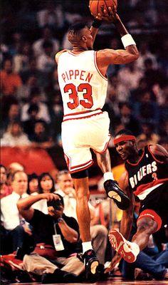 Scottie Pippen Chica