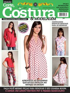 Artesanato - Tecidos - Corte Costura : CORTE COSTURA E MODELAGEM 004 - Editora Minuano