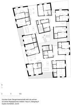 Mehr als Wohnen Baugenossenschaft Zürich Haus A Duplex Architekten