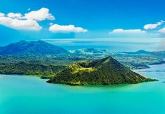 View of Taal Lake/Taal Volcano from Picnic Grove, Tagaytay 2015 Philippines People, Visit Philippines, Philippines Culture, Manila Philippines, The Places Youll Go, Places To See, Tagaytay Philippines, Taal Volcano, Philippines