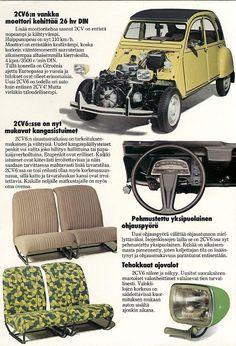 1976 Citroën brochure.