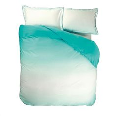 Saraille Aqua duvet cover and pillowcases from Designers Guild