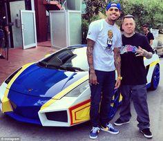 Chris Browns and Lamborghini #chrisbrown #lamborghini