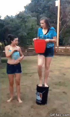 Ice bucket challenge FAIL GIF - www.gifsec.com