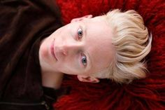 Q:What are you thinking of right now?Tilda: Where are my warm stockings for the morning?