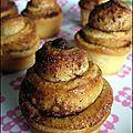 Cinnamon rolls (brioches roulées à la cannelle) - A la table de Gaelle