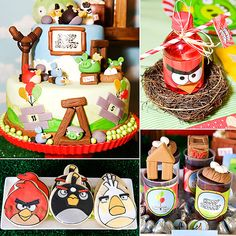 An Awesome Angry Birds Party