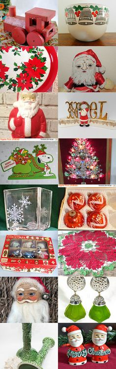 Actorteam pay-it-forward Christmas Treasury  by Carol Schick on Etsy--Pinned with TreasuryPin.com