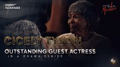 Congratulations Cicely Tyson on your Emmy Nomination for playing the mother of Annalise Keating (Viola Davis) on #HTGAWM. She gave a stellar performance, as always. She is 93 years old and still going strong! YGG! ❤️