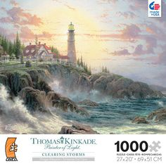 "Thomas Kinkade 1000-piece Puzzle - Clearing Storms - Ceaco - Toys""R""Us"