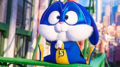 """Watch the official """"Snowball's Superhero Moves"""" clip for The Secret Life of Pets an animation movie starring Jenny Slate, Kevin Hart and Harrison Ford. Sinchan Cartoon, Cute Bunny Cartoon, Cute Cartoon Pictures, Snowball Rabbit, Pets Movie, Cute Baking, Anime Zodiac, Secret Life Of Pets, 3d Character"""