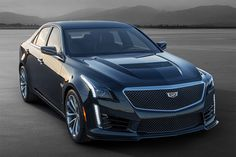 2016 Cadillac CTS-V | Delivering 640 hp from a new supercharged 6.2L V-8 engine. The powerplant is paired with a paddle-shift eight-speed automatic transmission, third-generation Magnetic Ride Control, improved structural stiffness, forged aluminum wheels wrapped in specially developed Michelin Pilot Super Sport tires, a carbon fiber hood for reduced weight, Brembo brakes, incredible tech like front curb view camera and more ( $TBA )