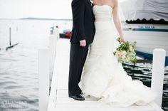 Wedding Bells: Maggie & Matt – Vera Wang Gown – Lake Geneva Wedding Photographer » Amanda Megan Miller Photography, harbor wedding, dockside wedding, boat wedding