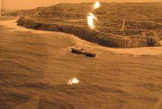 Dominator aground off P.V. 1961.