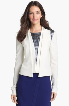 Rachel Roy Layered Jacket available at #Nordstrom