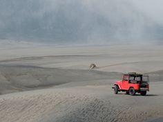 De Top 5 bezienswaardigheden die je niet mag missen tijdens je Indonesie reis! Op 4: Met een jeep naar de Bromo vulkaan, Java.