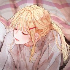A cute blondie anime girl^^ Manga Girl, Anime Girl Hot, Anime Art Girl, Anime Manga, Kawaii Anime, Chica Anime Sensual, Social Media Art, Avatar Couple, Cute Anime Couples