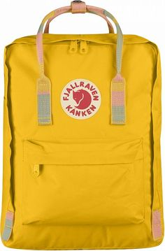 Buy Kanken for kids at the official Fjallraven UK online store. Here you'll find kid's backpacks, rucksacks, bags and Kanken suitable for kids and toddlers Mochila Kanken, Kanken Outfit, Kids Clothing Brands List, Fox Bag, Estilo Retro, Mini Backpack, Yellow Backpack, Travel Backpack, Shopping