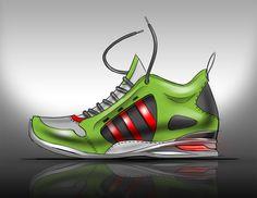 Industrial Design shoe sketch